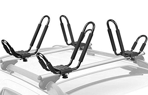 kayak rack set j bar