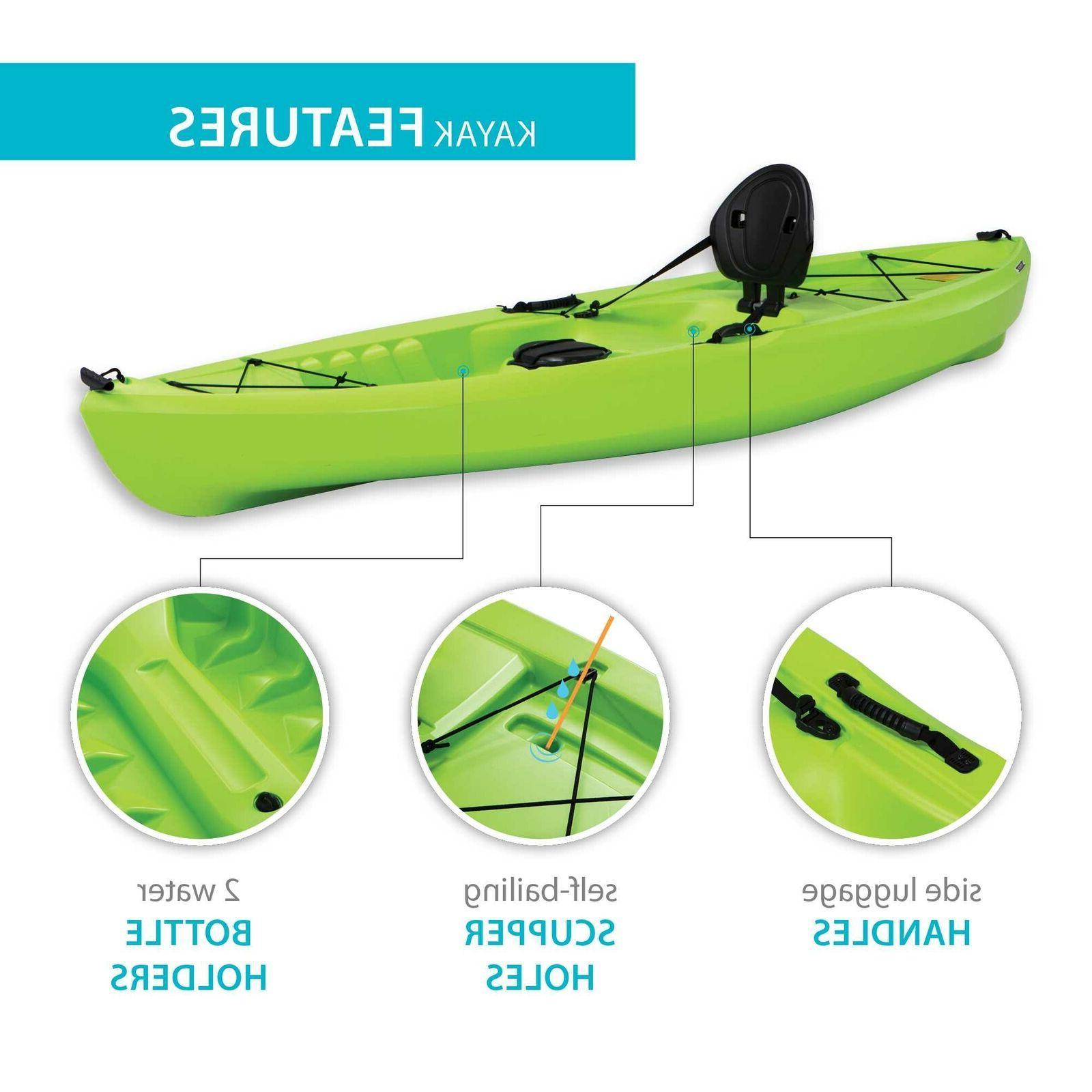 Kayak Tahoma Green