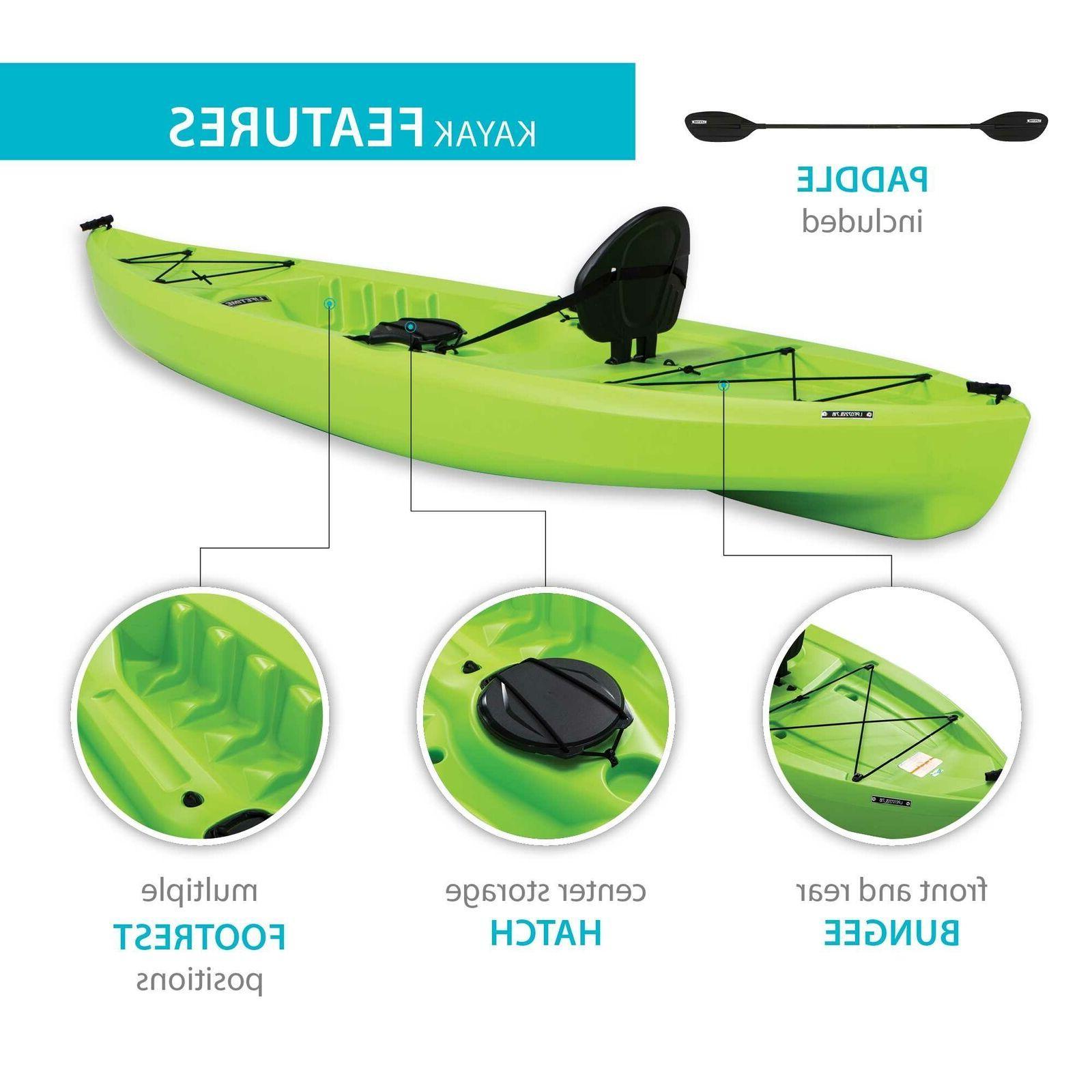 Kayak Sit Top Tahoma Feet Green