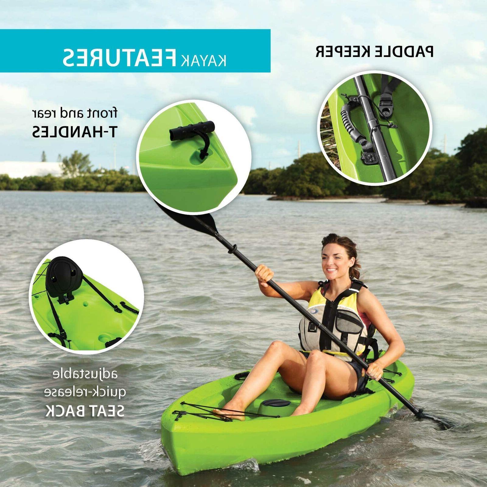 Kayak On Tahoma Feet Green