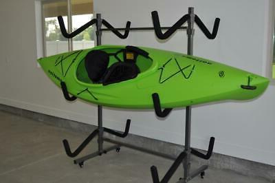 kayak storage rack and cart 6 kayak