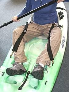 Ocean Kayak Knee Thigh Basic Braces-Pair
