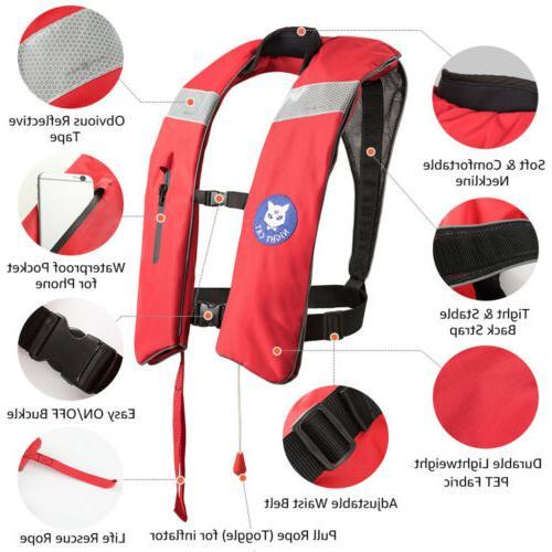Life Jackets for Kayaking Lifesave PFD Automatic