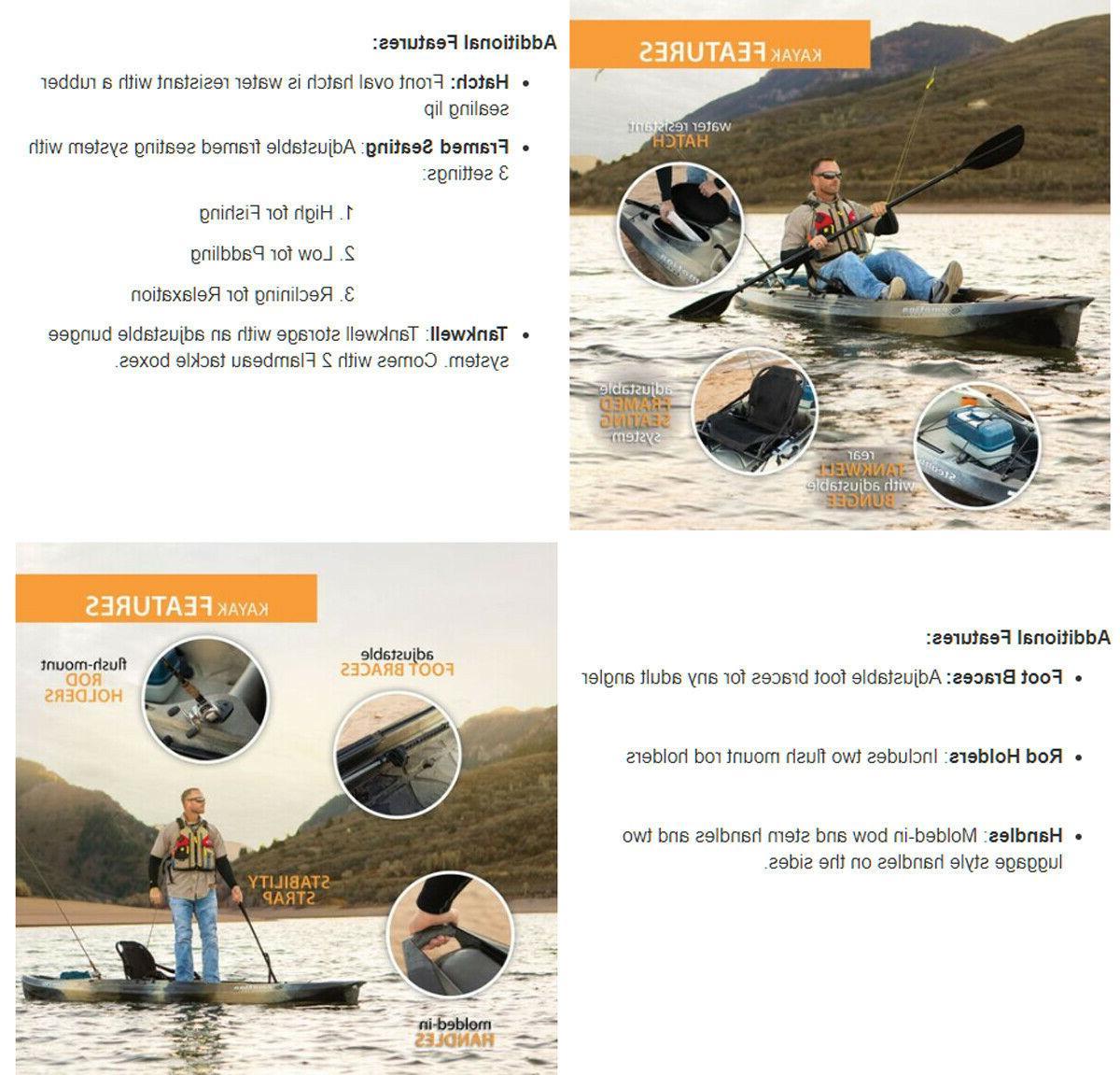 Lifetime Stealth Fishing Kayak