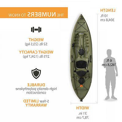 Lifetime Tamarack ft Fishing Kayak 90818
