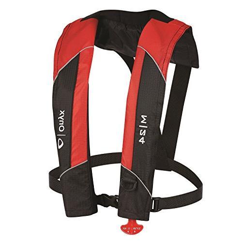 Onyx Life Jacket PFD Red