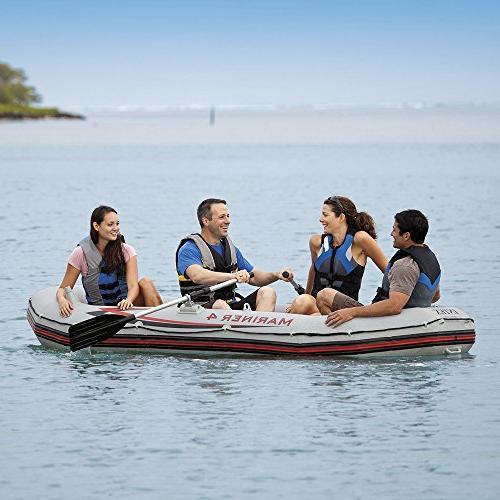 Intex Inflatable Aluminum Oars Output Air