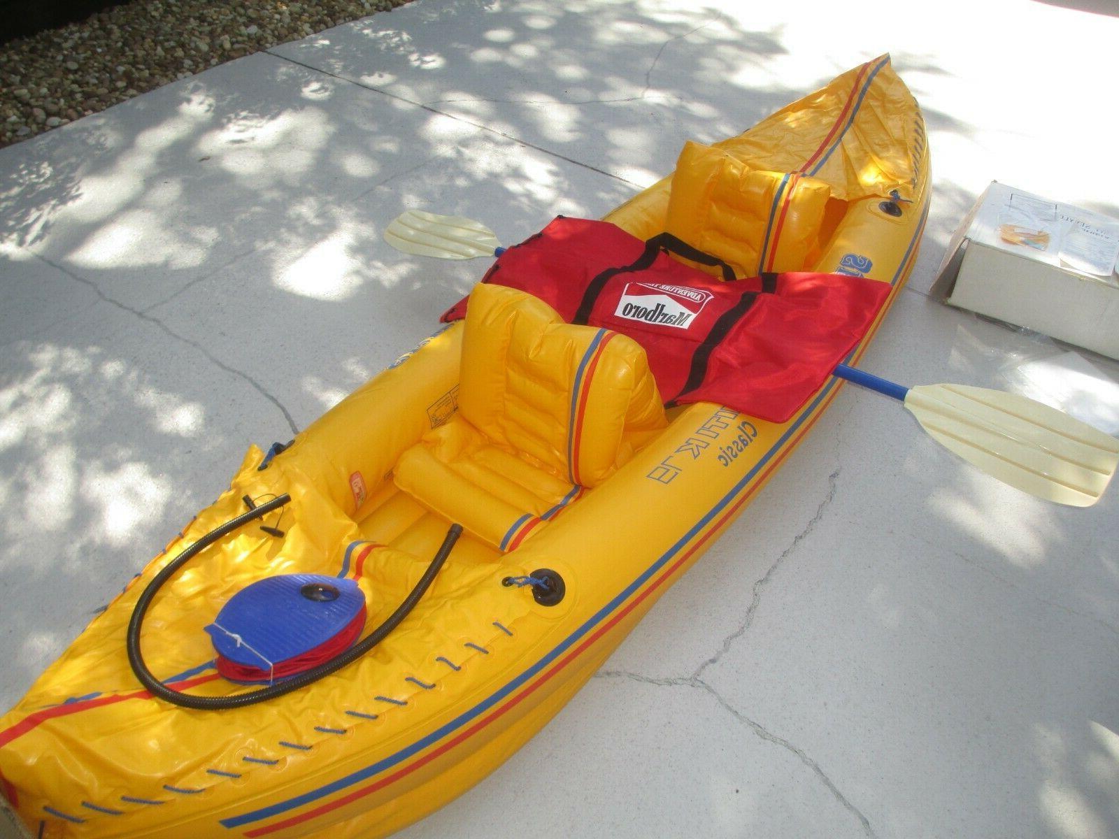 marlboro adventure team inflatable kayak tahiti k