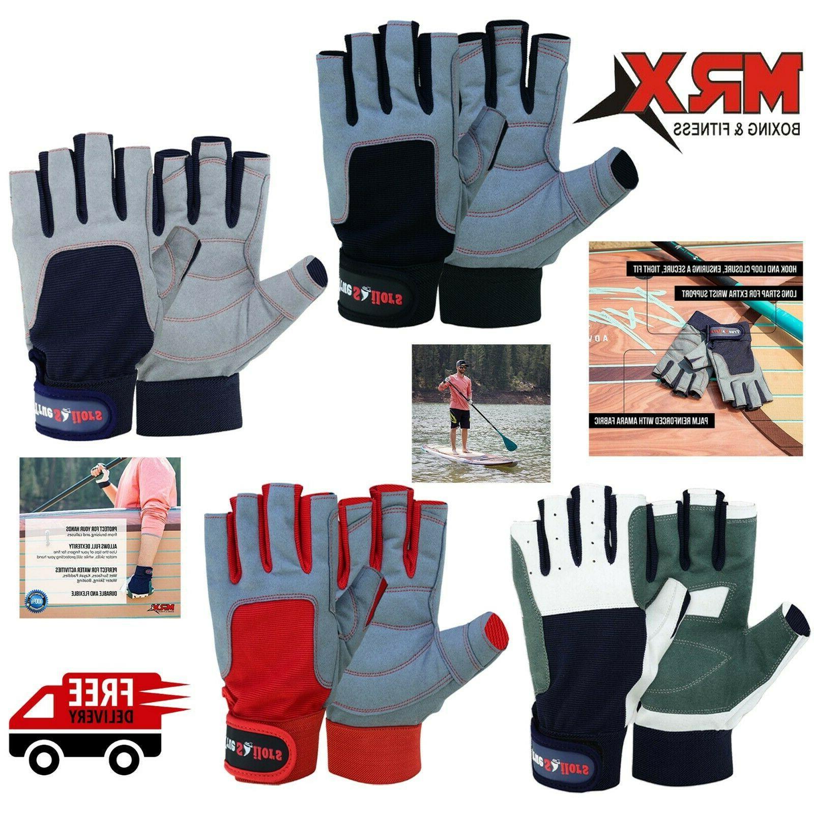 men women sailing gloves 3 4 finger