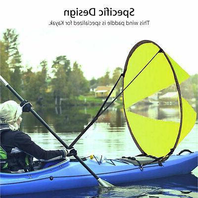 "Foldable Sail Paddle Sailing Windpaddle 42"""