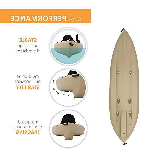 """Lifetime Kayak with 120"""""""