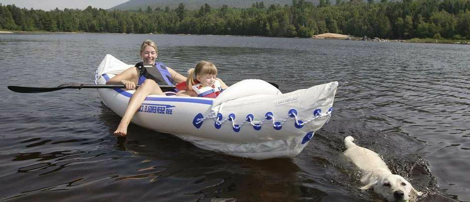 new 330 inflatable kayak quik sail kayak