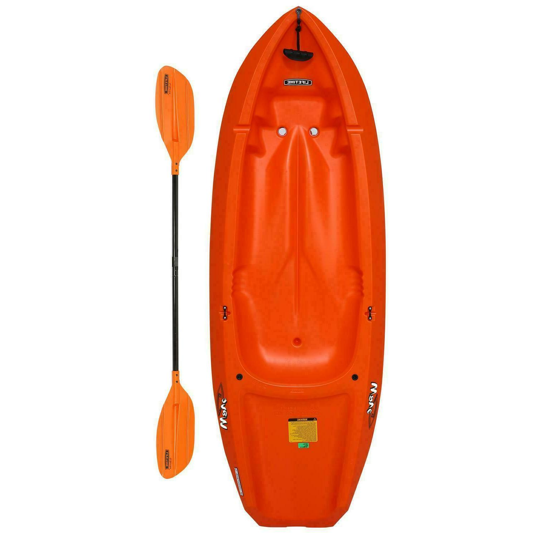 new wave 6 ft youth kayak paddle