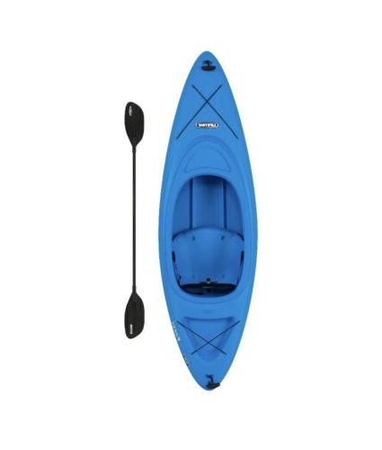 pacer 8 ft kayak boat with paddle