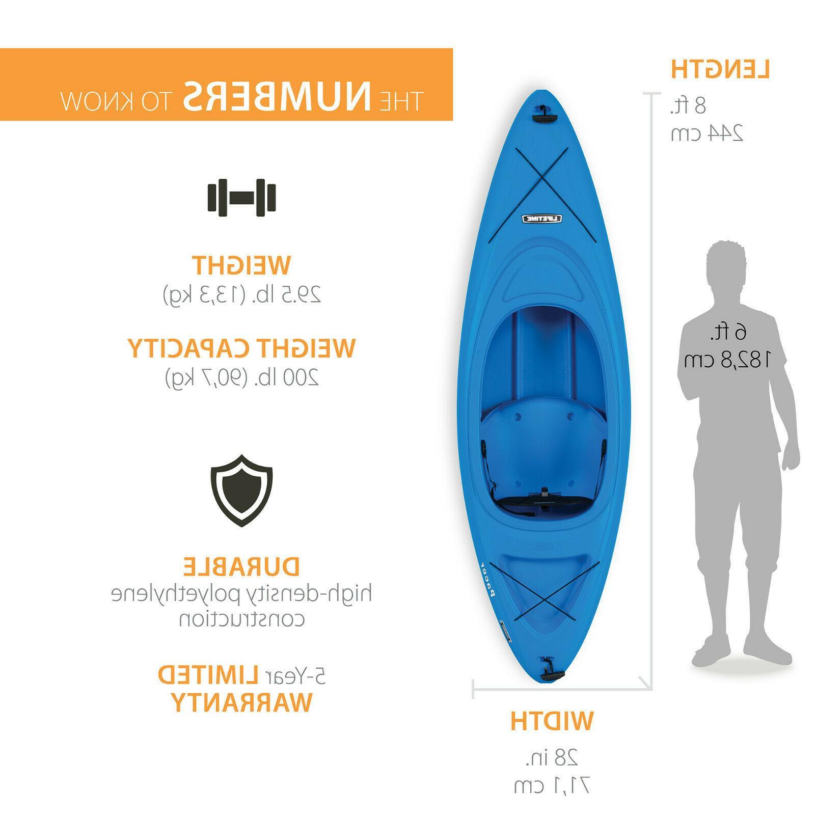 Lifetime 8 Kayak