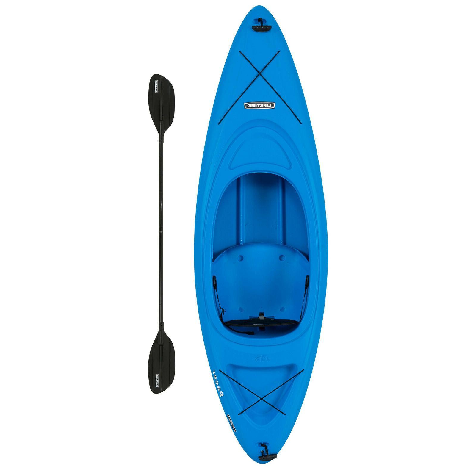 pacer 8 ft kayak w paddle
