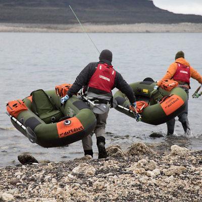 Sea Frameless Angler Fishing Boat, Green