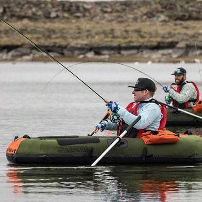 Sea Eagle Frameless Inflatable Fishing Boat, Green