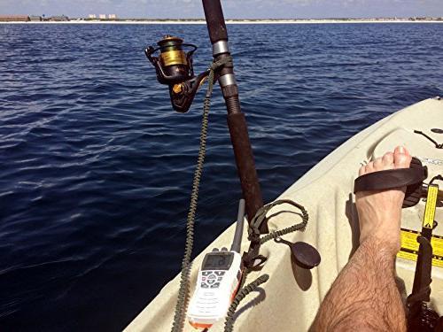 Campingandkayaking USA! Paddle Leash a Leash Set, 3 Plus Carabiner.