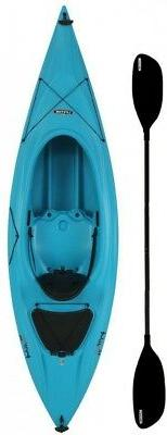 Lifetime Payette 9.6 ft. Kayak in Glacier Blue with Paddle a