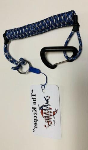 The Keeper Color Kayak leash rod