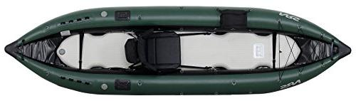 Inflatable Fishing Kayak-Green