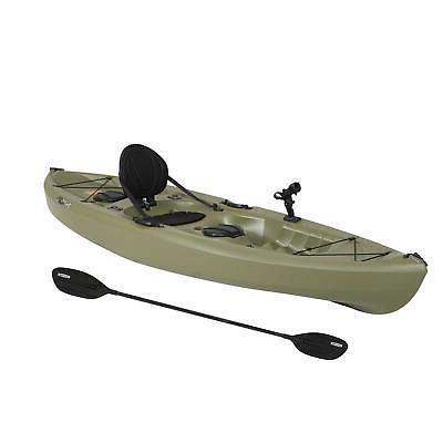 Portable Fishing 100 Paddle Durable Plastic Green