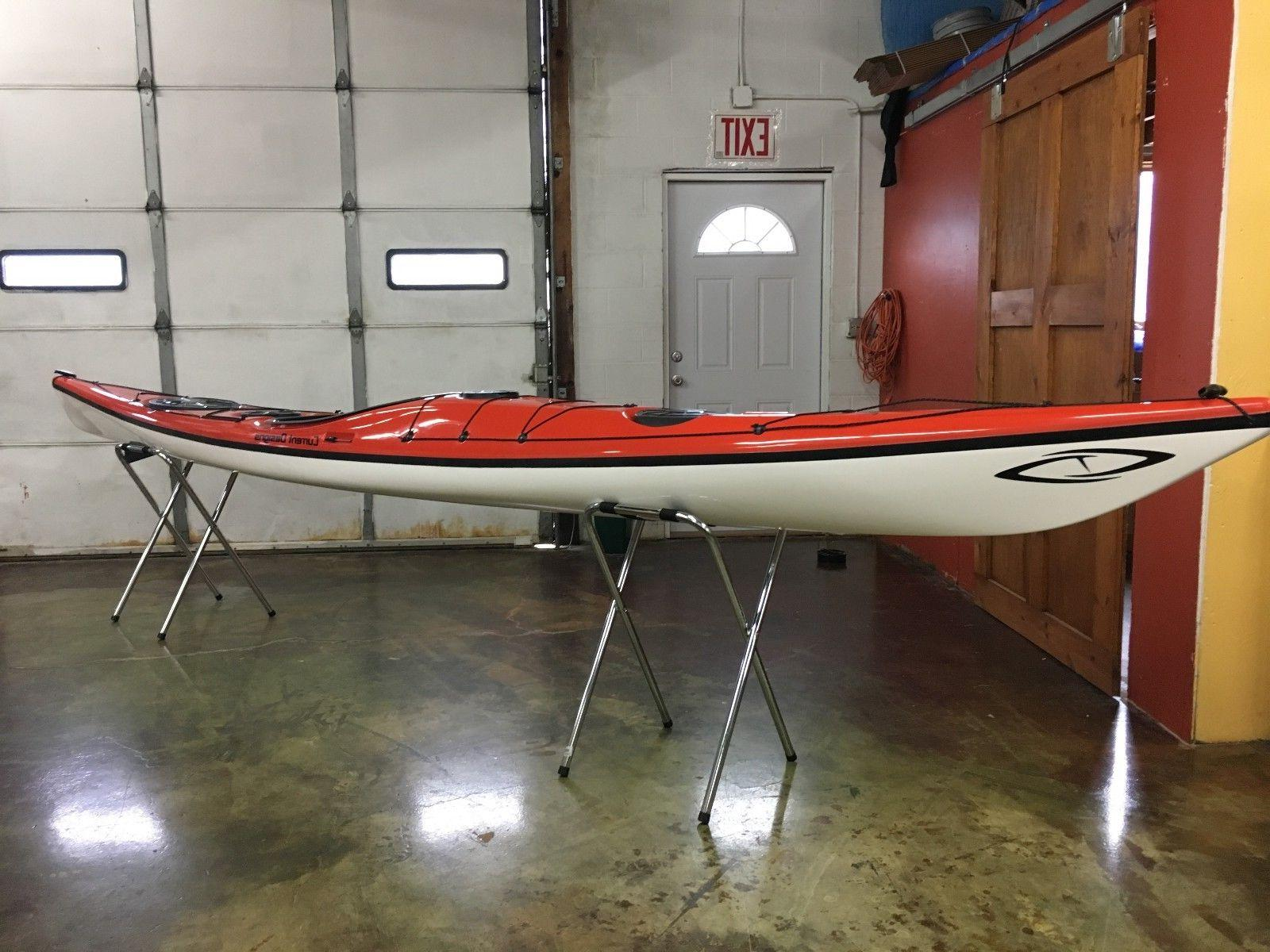 prana fiberglass touring kayak new