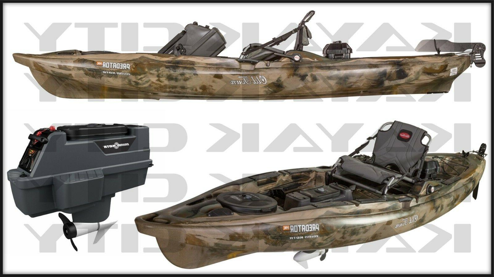 predator mk motorized kayak w free paddle