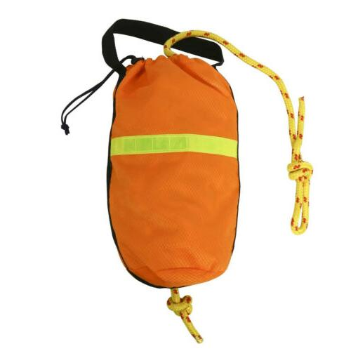 Rescue Throw Rope Bag with Braided Floating Polypropylene Li