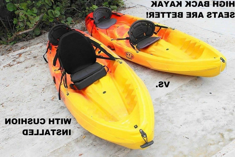 DELUXE KAYAK HIGH BACK + CUSHION USE AS BEACH