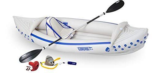 se330 inflatable kayak solo amazon
