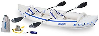 se370 inflatable sport kayak pro package
