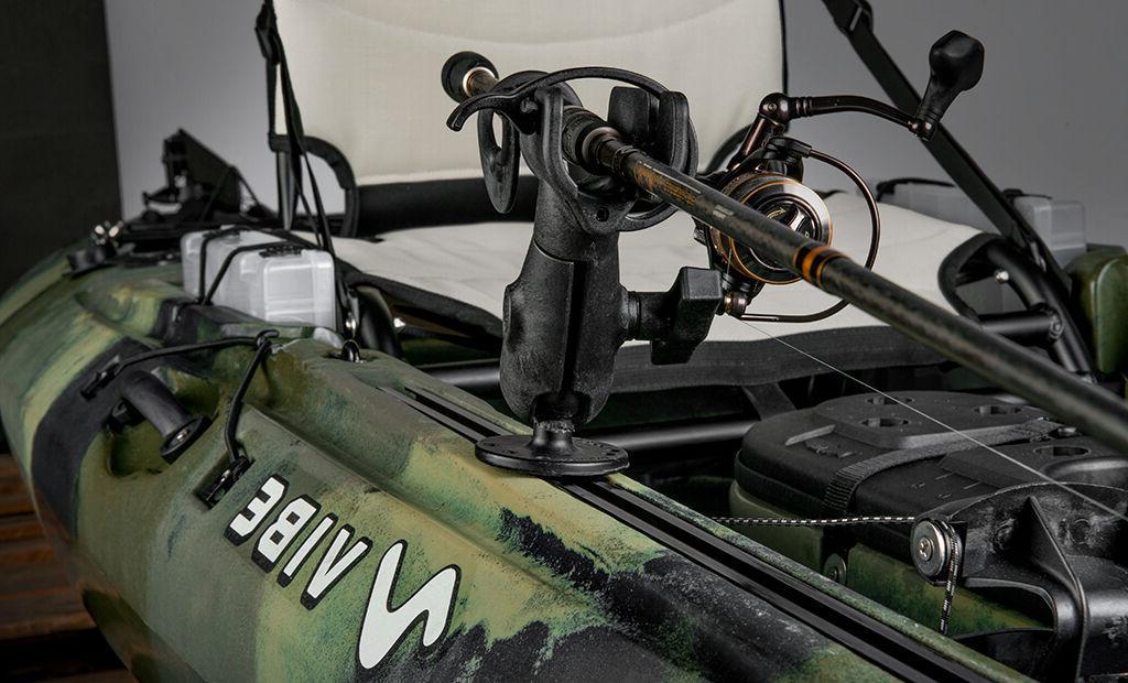 Vibe Ghost 110 11' Fishing Kayak+Paddle+Seat