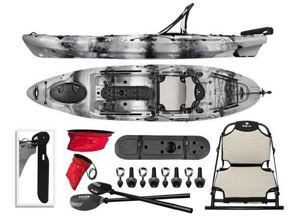 sea ghost 110 11 fishing kayak paddle