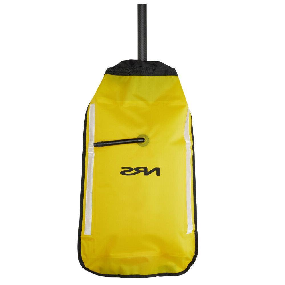 sea kayak paddle float yellow