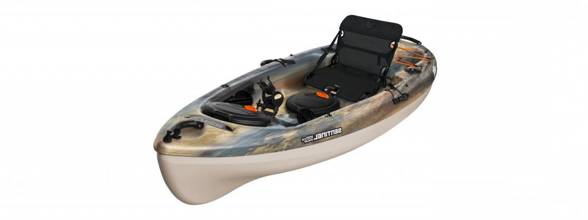 sentinel 100xr angler new kayak sandstone sand