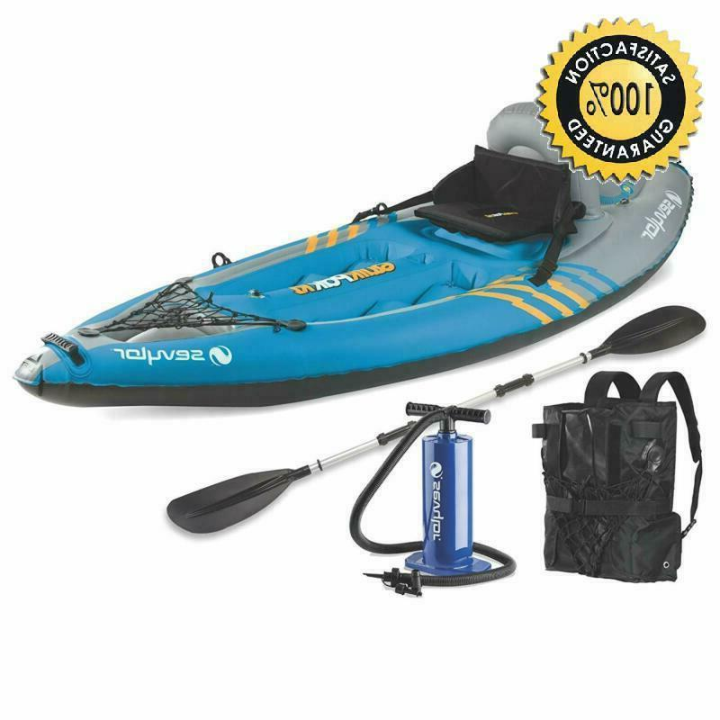 sevylor quikpak k1 1 person kayak