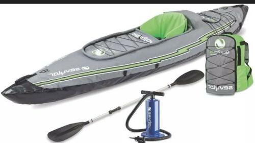 sevylor quikpak k5 1 person kayak in