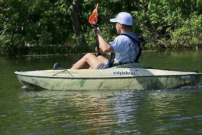 Sit-On Angler Multi Colors Lake Canoe