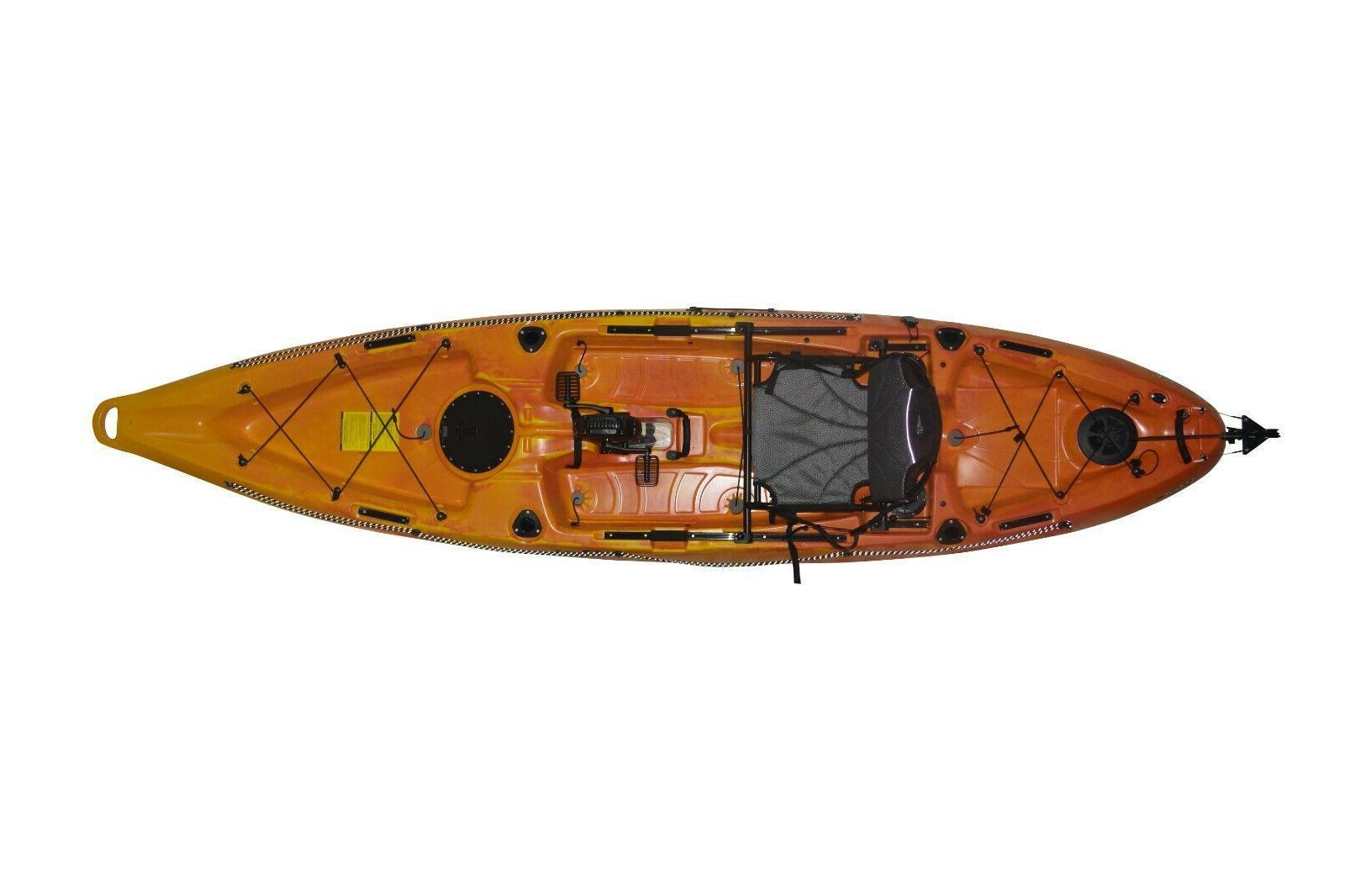 Stable Fishing kayak pedal 12'ft