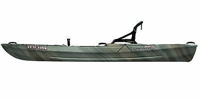 SUNDOLPHIN Sun Boss SS Angler Kayak (Gray Swirl, ...