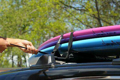 DORSAL Surfboard Surf Roof Rack Tie Down Straps FT