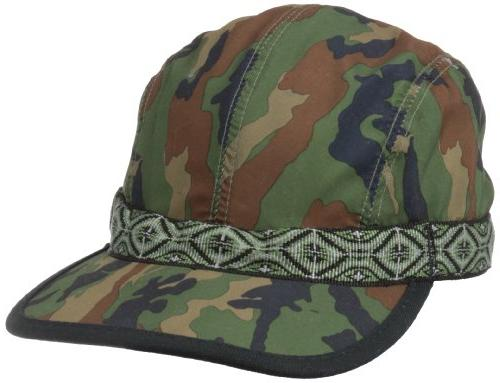 KAVU Synthetic Strapcap, Camo, Large