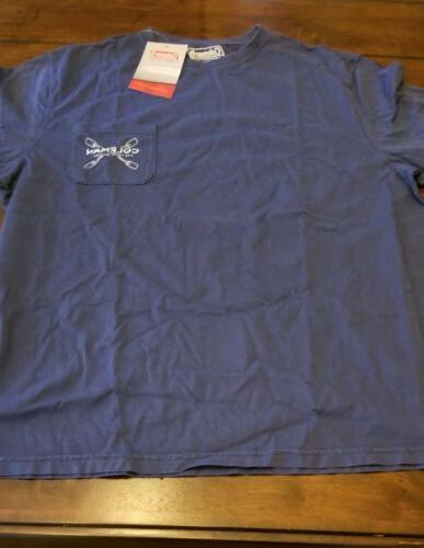 Coleman T-shirt Brand New Pocket Camping Blue 40$