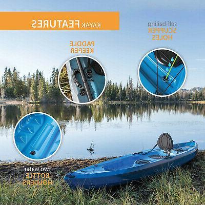 Lifetime Tamarack Angler Fishing Kayak Water Paddle