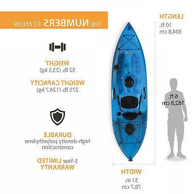 Lifetime Tamarack Kayak Sports Outdoor Paddle