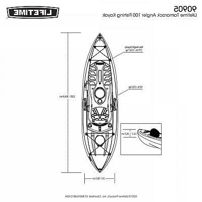 Lifetime Kayak Sports Paddle Included