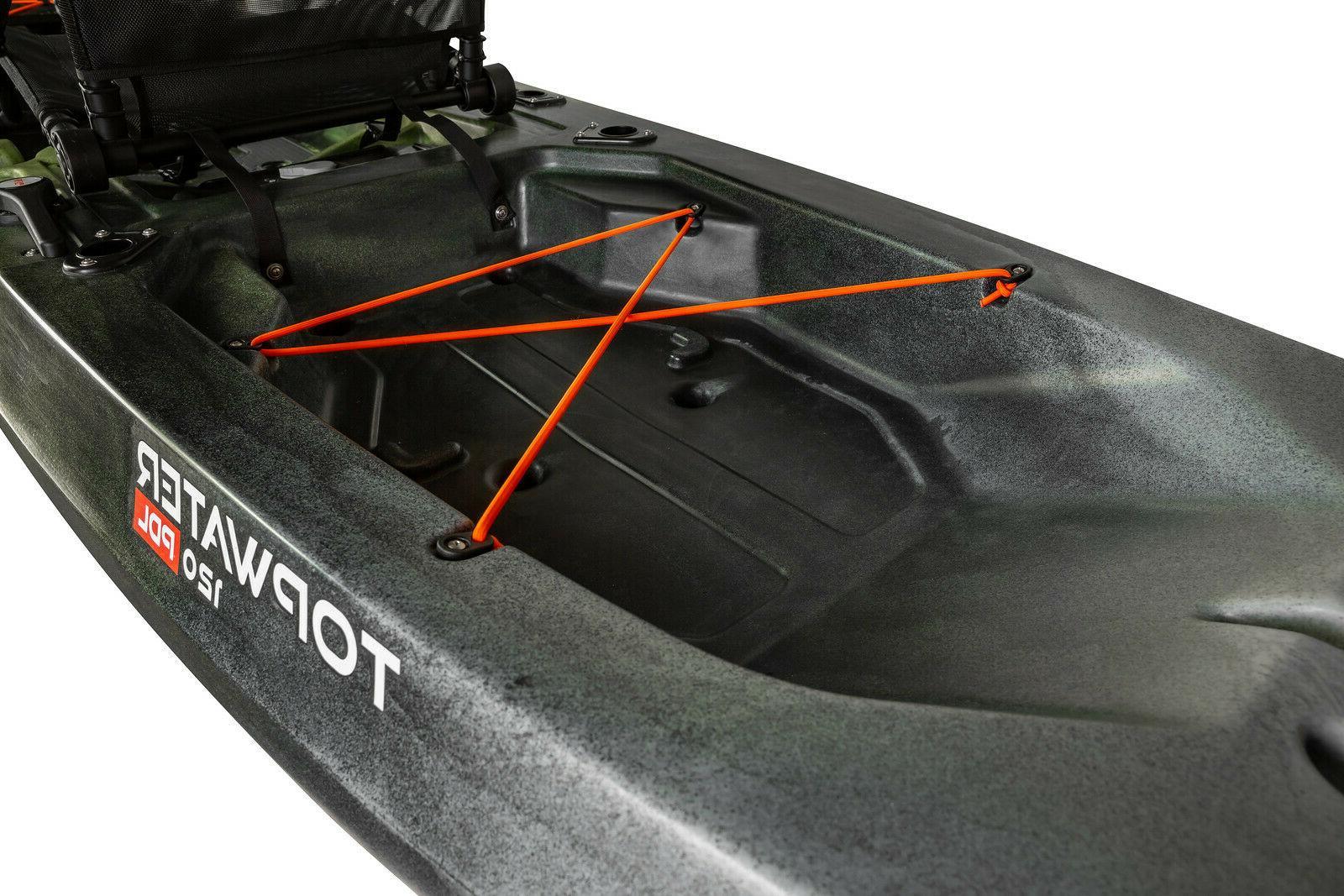 Old Topwater PDL Fishing Kayak w/FREE Fiberglass