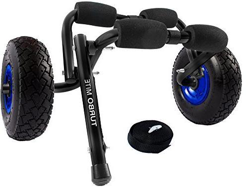 turbomite kayak cart